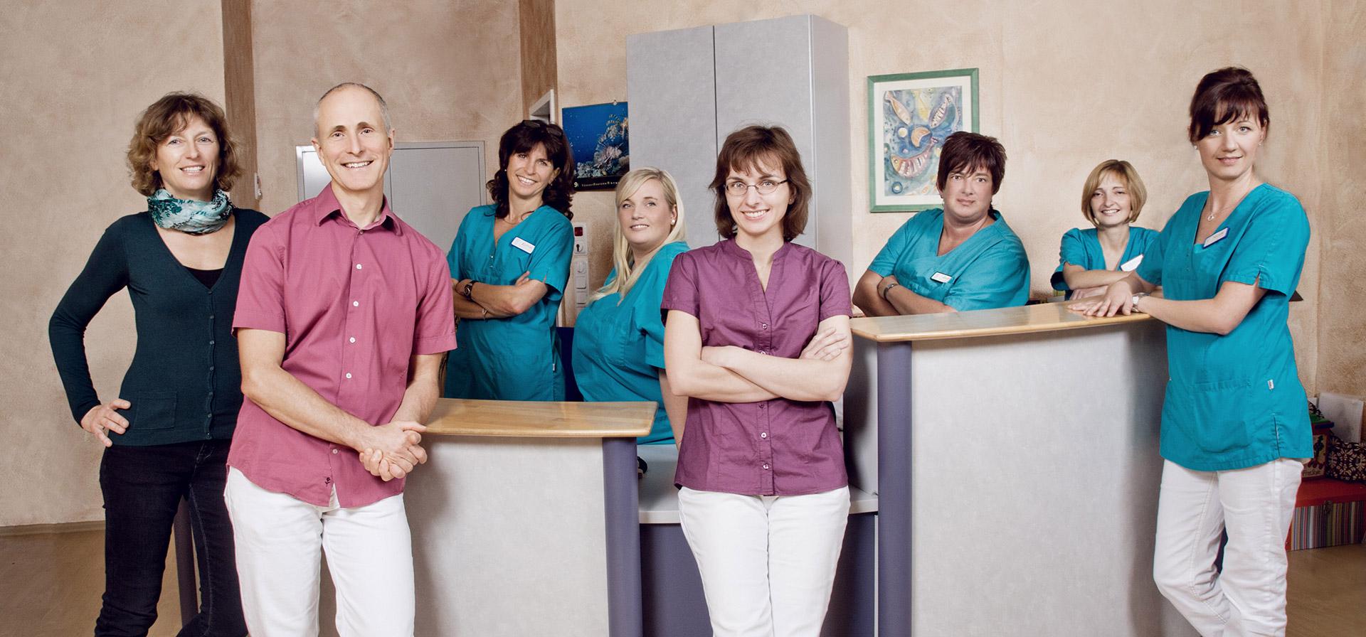 Das Team der Fachpraxis für Kieferorthopädie von Dr. Peter Ring